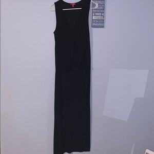 Black tank with long back
